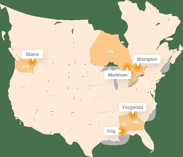 Geographic Footprint